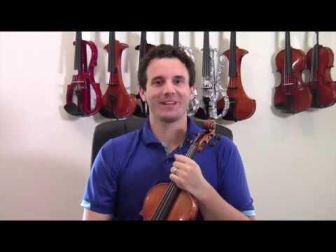 A Minor Harmonic Scale - Intermediate Violin Lesson
