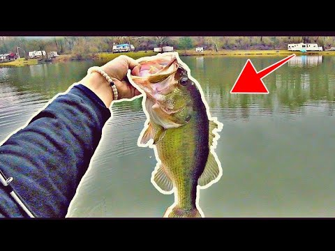Early Spring Cold Water Bass Fishing