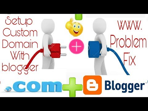 How To Setup Custom domain with your blogger.com/blog Explain properly[Hindi]