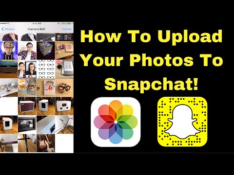 Upload Your Pics To Snapchat! 📷