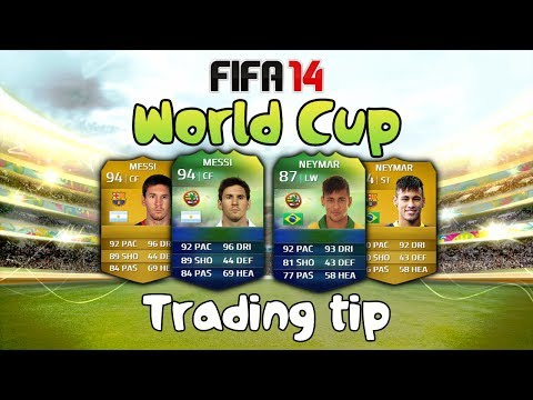 FIFA 14 Ultimate Team Trading Tips - How To Make Easy Coins With The World Cup Market Crash!