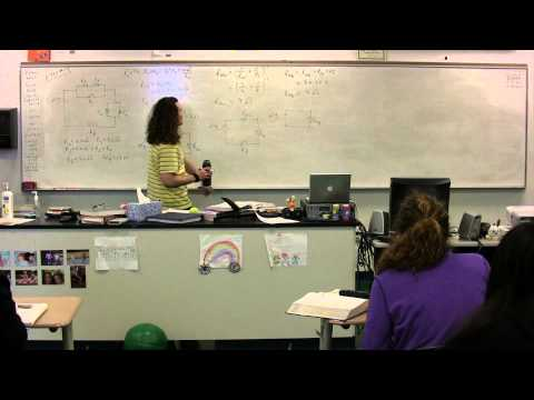 Finding Equivalent Resistance and Electric Power in a Circuit with Resistors in Series and Parallel