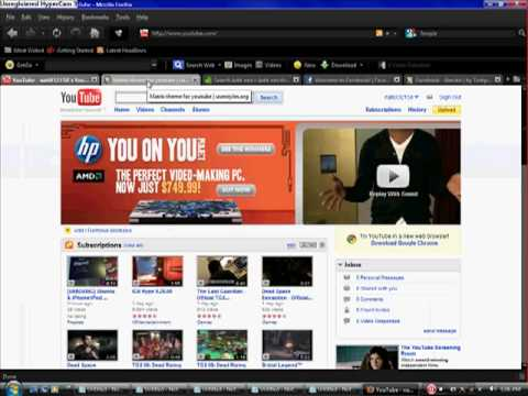 how to change ur facebook and you tube background and more (NEW)