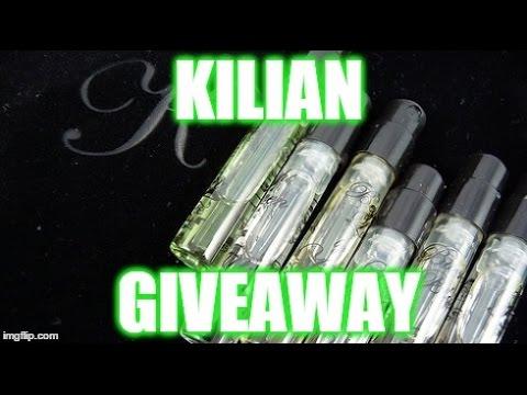 GIVEAWAY!!! 2 x 10mls of Kilian Perfume (FEB'15)
