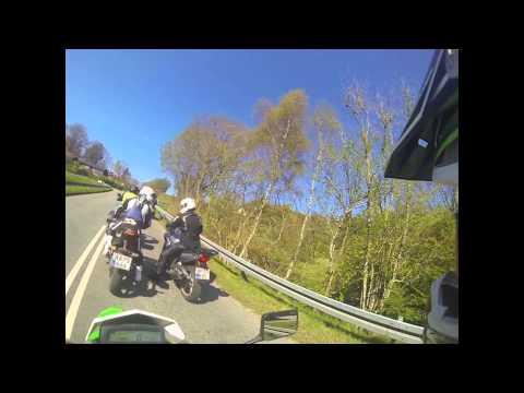 Kawasaki KLX 250 On the Road