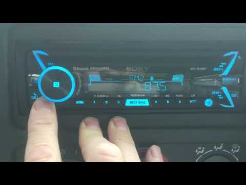 How To Change Band From FM to AM on Sony Car Stereo