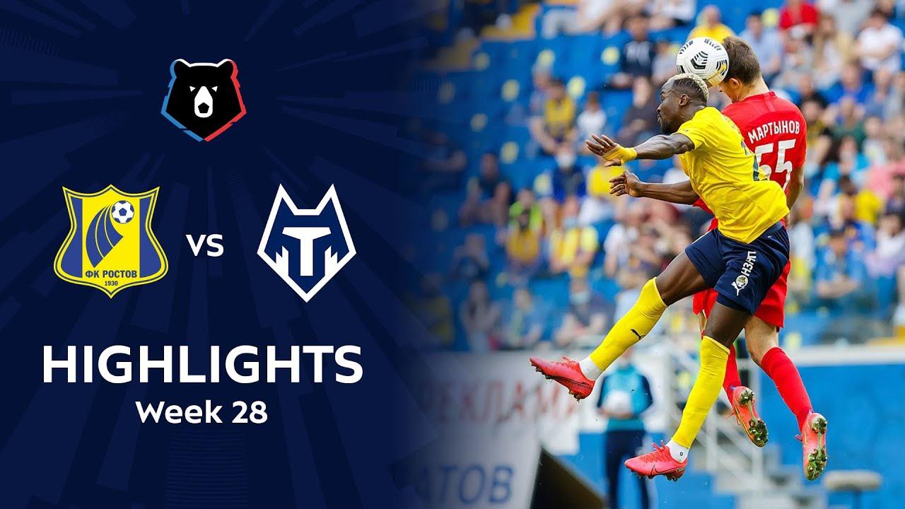 Highlights FC Rostov vs FC Tambov (2-0) | RPL 2020/21