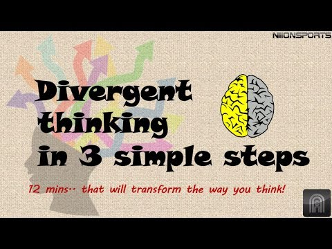Divergent (or) lateral thinking in 3 simple steps