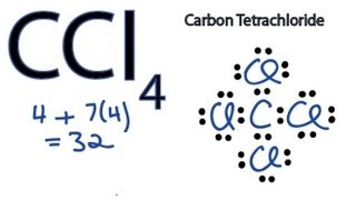 ccl4 lewis structure - how to draw the dot structure for ccl4 (carbon  tetachloride)