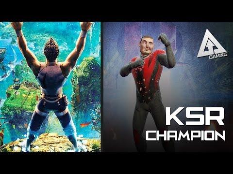 Kinect Sports Rivals Gameplay - Champion Creation + Killer Instinct Costume