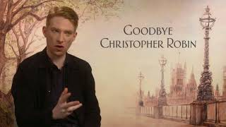 Domhnall Gleeson Goodbye Christopher Robin Full Interview talks Winnie the Pooh