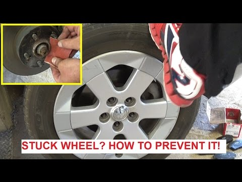 Stuck Tire! Stuck Wheel! How to prevent a wheel from getting stuck!