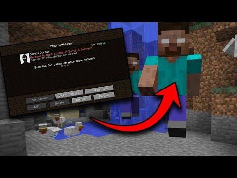 Players keep finding Herobrine on my Minecraft Server... (Trolling in Minecraft as Herobrine Prank)
