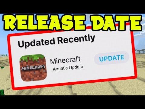 NEW Minecraft PE UPDATE 1.4 RELEASE DATE (MCPE Beta)