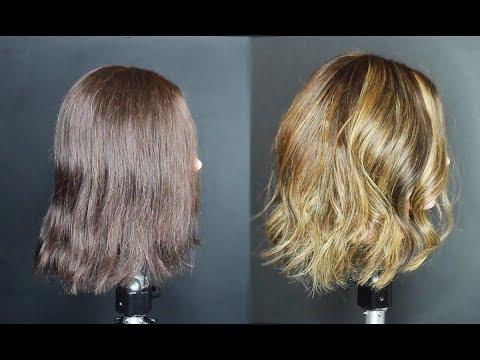 HOW TO BALAYAGE HAIR