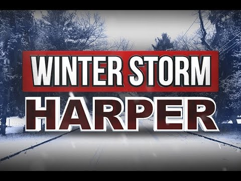 Brutal Wind Chill #Harper Havoc #winterstorm Is In FULL SWING!! We are getting 2FT!!
