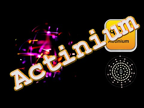 ACTINIUM: Facts and Curiosities: Periodic Table of Elements