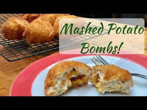 Stuffed Mashed Potato Bombs