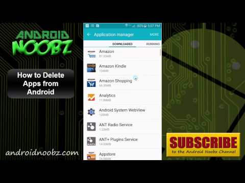 How to Delete Apps on Android Smartphone or Tablet (Lollipop)