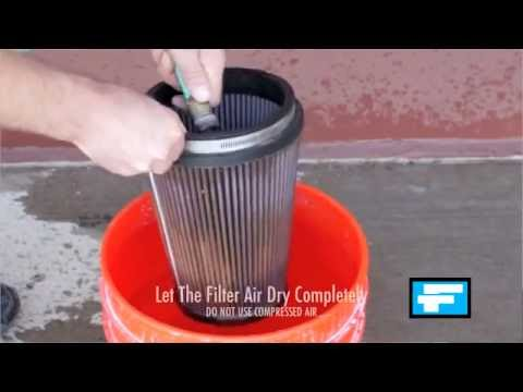Cleaning Your Airaid SynthaFlow Oiled Air Filter