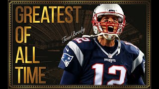 Tom Brady: A Tribute to the Greatest (Six Rings)