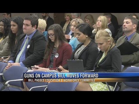 Proposal Allowing Guns on Florida Campuses Moves Forward