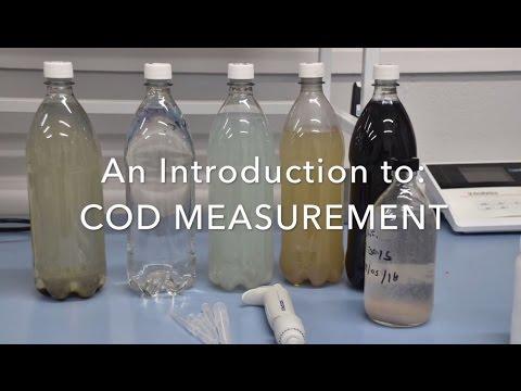 Chemical Oxygen Demand (COD) Measurement