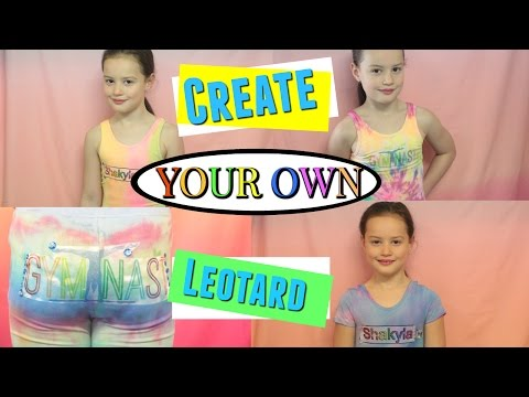 DIY Tie Dye|Create your own Leotard|shakylas Gymnastics