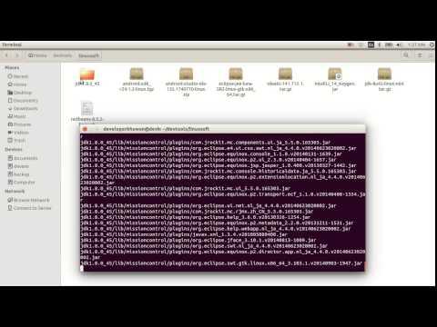 Setting JDK path in ubuntu