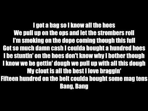 Chief Keef- I Got A Bag Ft Ballout Lyrics
