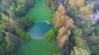 AERIAL The OPRAH WINFREY Estate-Monticeto,Ca. DJI Inspire1 4K HD