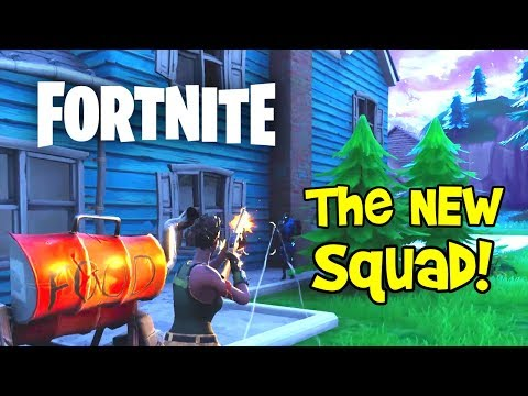 SQUAD NOOBS! Fortnite Battle Royale Gameplay (Funny Moments, PC)