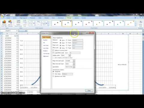 Making and Modifying Graphs in Excel