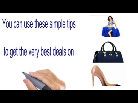 How To Find Online Deals  For Clothing