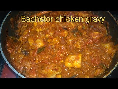 Simple Bachelor chicken gravy | Easy to follow methods