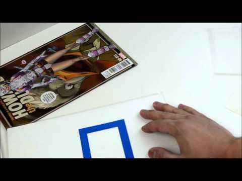 Comic Signature Prep Video - Comic Signature Stickers