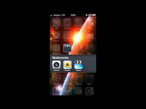 iPhone 5 - How to Delete Photos
