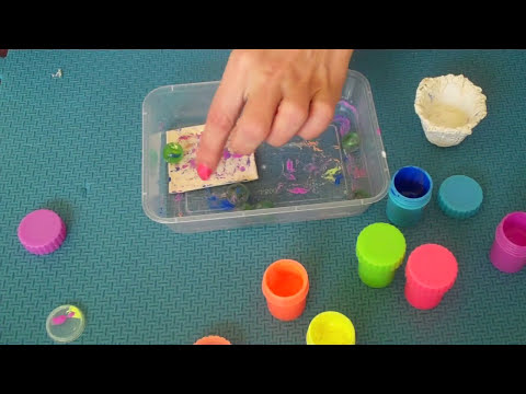 How to Make - Mini Painting Canvas - (EASY)