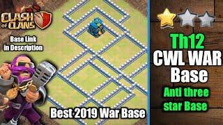 th12 cwl war base 2019 Videos - 9tube tv