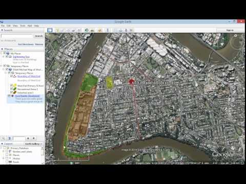 Google Earth Tutorial   How to add a picture and a link to a placemark in Google Earth