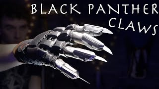 How To Make Real Life BLACK PANTHER CLAWS!