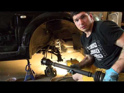 Replacing Axles on an Audi/VW