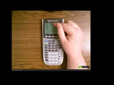 TI-84 Demo for Variance and Standard Deviation