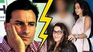 Saif Ali Khan And Ex-Wife Amrita Singh Fight Over Sara Ali Khan