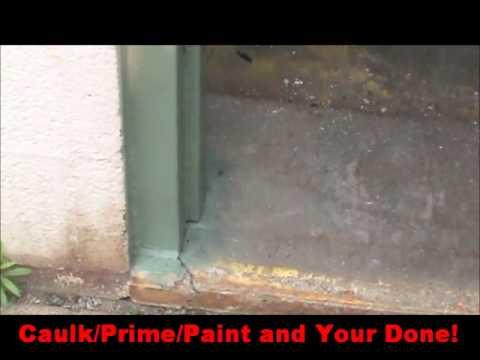 Steel Door Frame Repair 1 min video