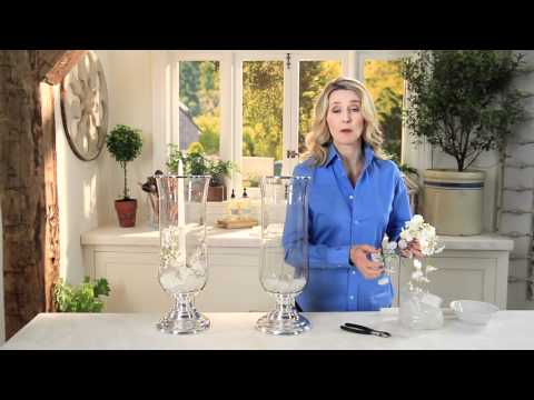 Home Décor: How to Create Beautiful Displays with Orchids & Hurricanes | Pottery Barn