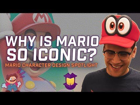 Why Is Mario SO Iconic? - Mario Character Design Spotlight