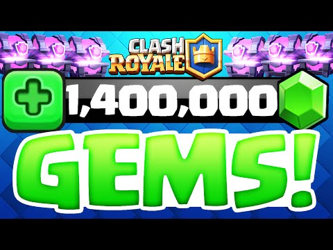 Clash Royale ♦ 1 MILLION GEMS! ♦ 300+ Super Magical Chest Opening! ♦