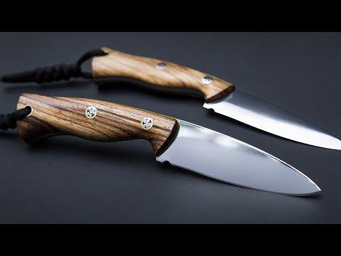 Making a hunting knife using hobbyist tools