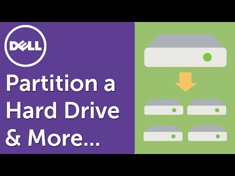 How to Partition a Hard Drive on Windows 10 (Official Dell Tech Support)